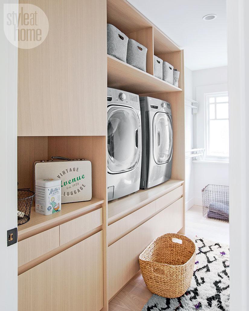 Pure Interior Design Point Grey Laundry